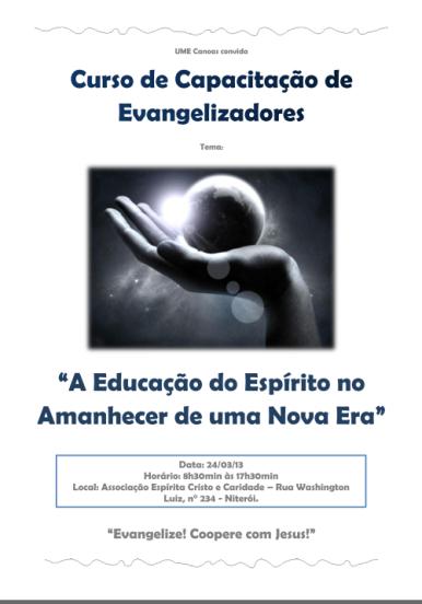 Curso de Evangelizadores