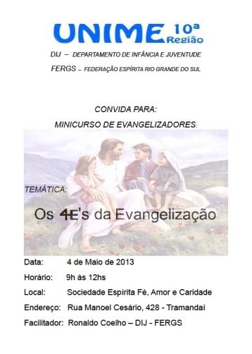 Os 4 E's da Evangelização