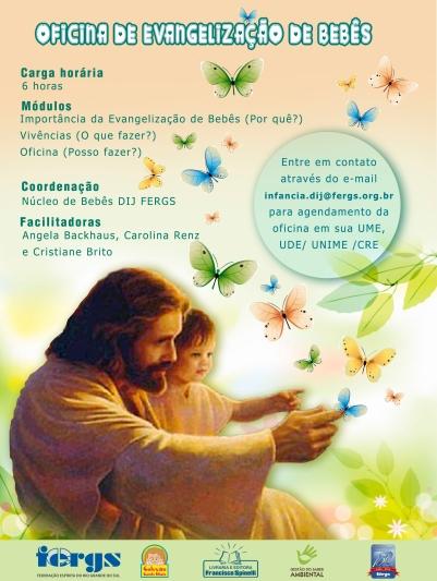 Oficina evangelização bebês